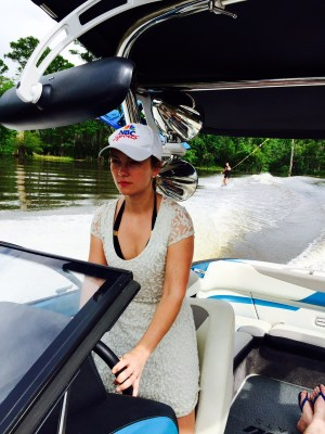 Ada Polla boating